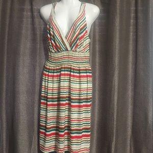 Myan large multi colored dress